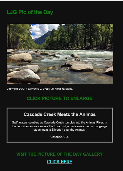 Would you like to receive a scenic picture?